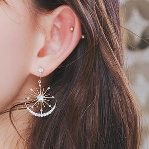 Sun and Moon Earrings New